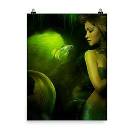 """Poster """"The Mermaid"""" by ElenaDudina"""