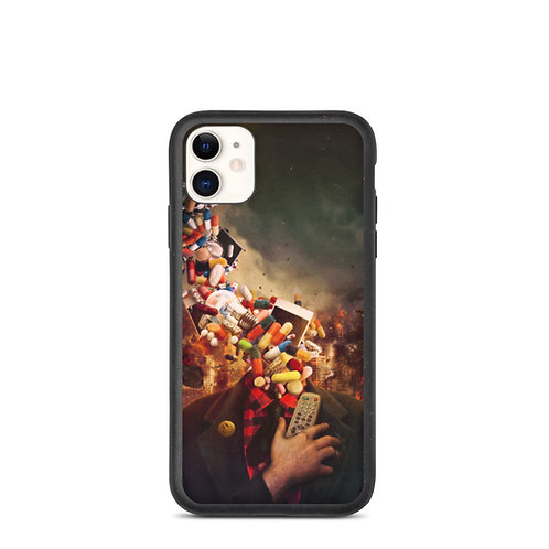 """iPhone case """"Comfortably Numb"""" by Aegis-Illustration"""