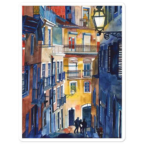 "Stickers ""Lisbon"" by Takmaj"