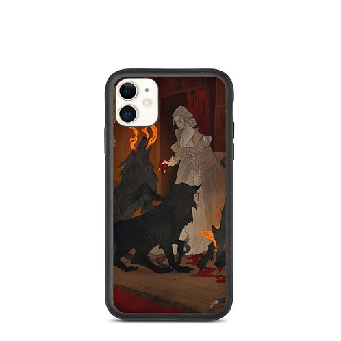 """iPhone case """"Hungry Hellhounds"""" by AbigailLarson"""