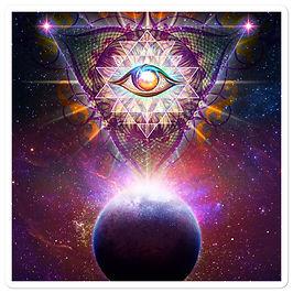 "Stickers ""Cosmic Eye"" by Lilyas"