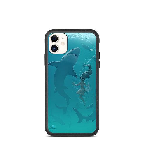 """iPhone case """"Pearl Diver"""" by vashperado"""