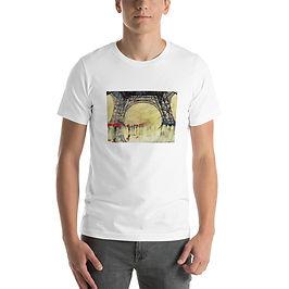 "T-Shirt ""Winter in Paris"" by Takmaj"