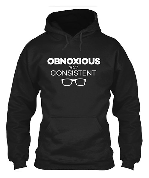Obnoxious, but Consistent (dark) Classic Pullover Hoodie
