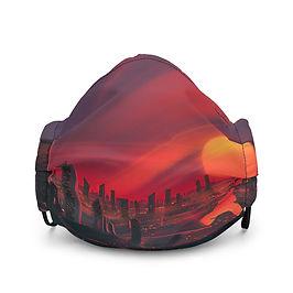 "Mask ""3019 City of Bright Lights"" by JoeyJazz"