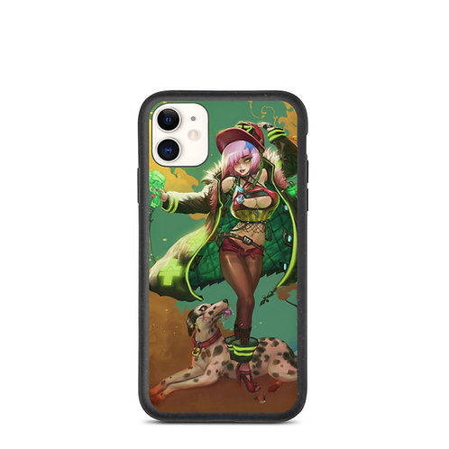 """iPhone case """"Fiore Fighter"""" by Elsevilla"""
