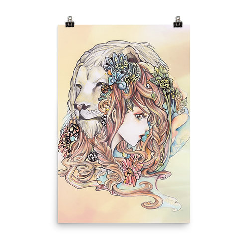 """Poster """"Leo"""" by Hellobaby"""