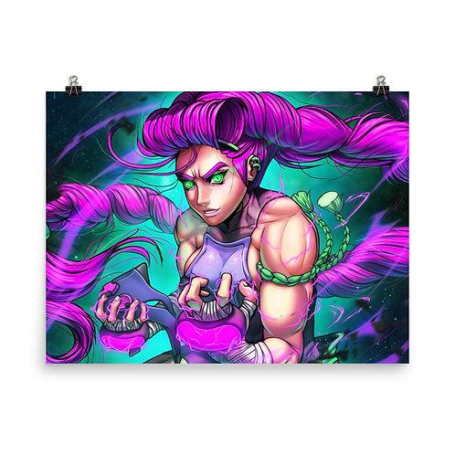 "Poster ""Magenta Rage Unleashed"" by DasGnomo"
