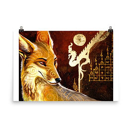 "Poster ""culpeo fox"" by Culpeo-Fox"