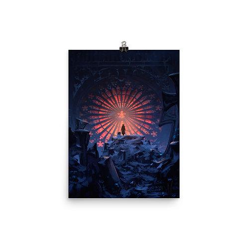 """Poster """"Ave Marie"""" by Anatofinnstark"""