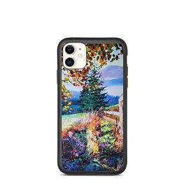 "iPhone case ""Sunny Morning"" by Gudzart"