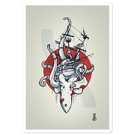 "Stickers ""lpiratepreshi"" by remiismeltingdots"