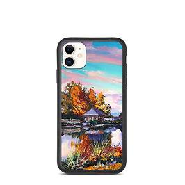 """iPhone case """"Near the Pond"""" by Gudzart"""