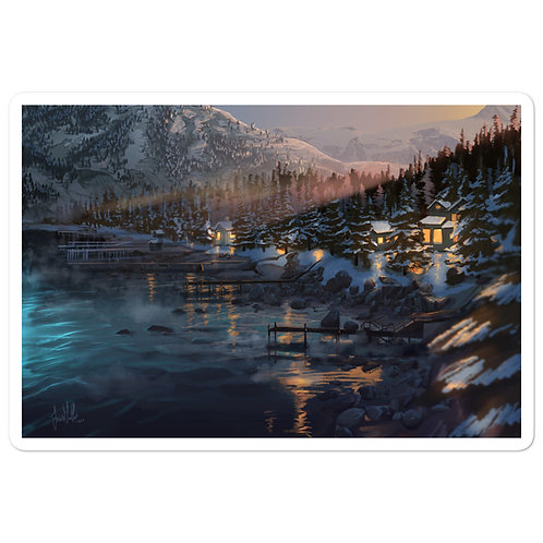 """Stickers """"Lake Tahoe"""" by chateaugrief"""