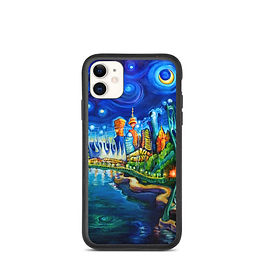 """iPhone case """"Lions Gate Night Out"""" by LauraZee"""