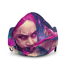 "Mask ""Magenta Rage"" by DasGnomo"