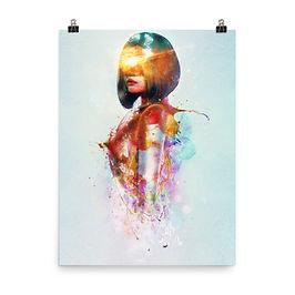"Poster ""Deja Vu"" by Aegis-Illustration"