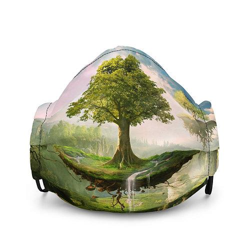 "Mask ""Floating Islands"" by ElenaDudina"
