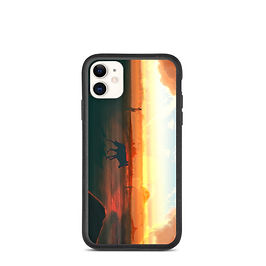 "iPhone case ""Sound of Desert"" by JoeyJazz"