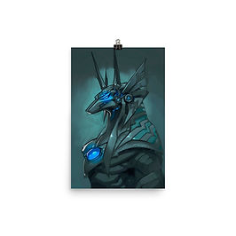 "Poster ""Anubis"" by el-grimlock"