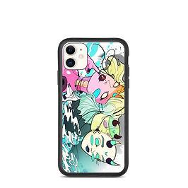 "iPhone case ""Hush Hush"" by MoxxiMonroe"