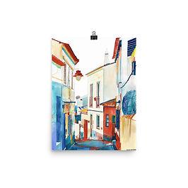 """Poster """"Algarve"""" by Takmaj"""