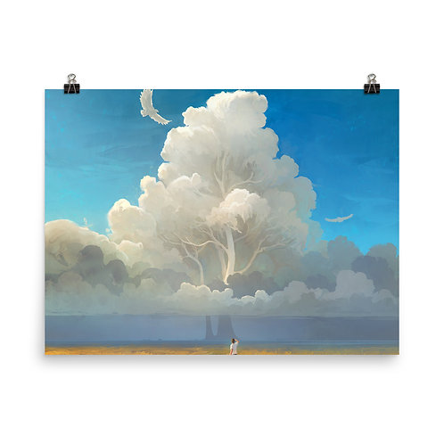 """Poster """"Nature Salvation"""" by RHADS"""