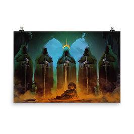 "Poster ""Amon Sul"" by Anatofinnstark"