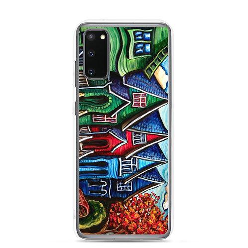 "Samsung Case ""Kitsilano Neighbourhood"" by LauraZee"