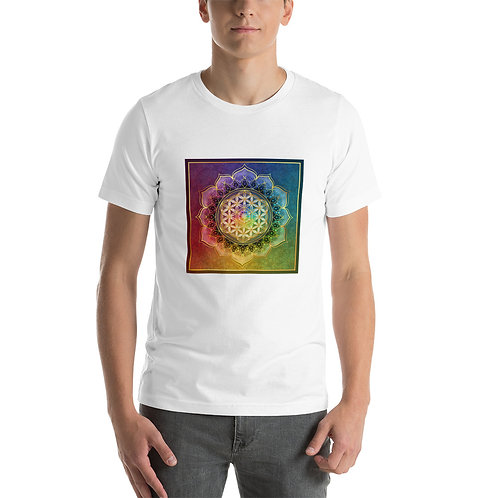 """T-Shirt """"Rainbow Flower of Life"""" by Lilyas"""