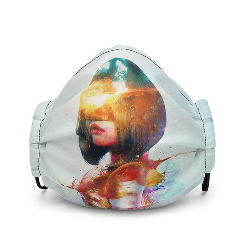 "Mask ""Deja Vu"" by Aegis-Illustration"