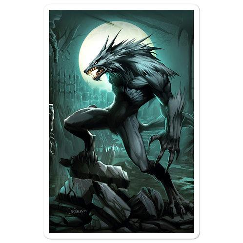 """Stickers """"Werewolf"""" by el-grimlock"""