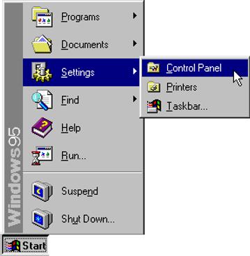 Windows 95 Panel