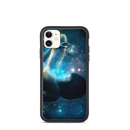 "iPhone case ""Child of the Universe"" by phatpuppyart-studios"