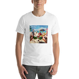 """T-Shirt """"Under the Boardwalk"""" by JeffLeeJohnson"""