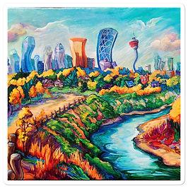 """Stickers """"Calgary Horizon"""" by LauraZee"""
