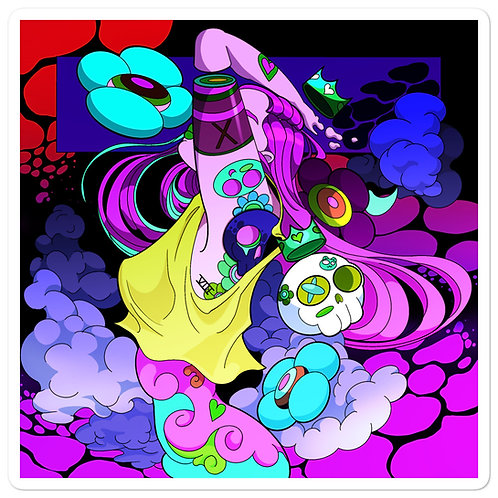 """Stickers """"Neon Clouds"""" by MoxxiMonroe"""