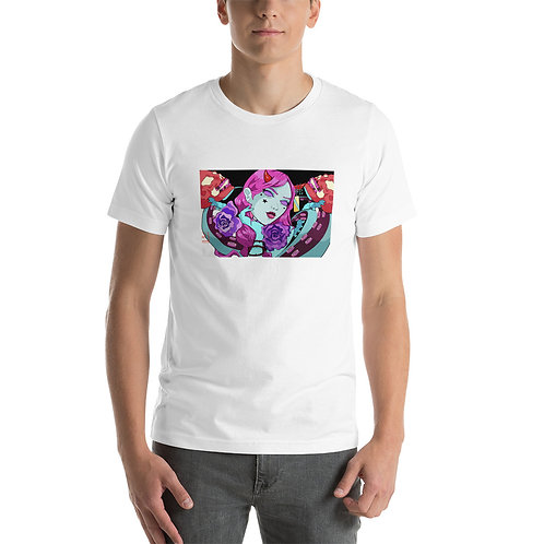 """T-Shirt """"Skulls and Flowers"""" by MoxxiMonroe"""