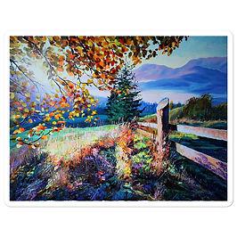 "Stickers ""Sunny Morning"" by Gudzart"