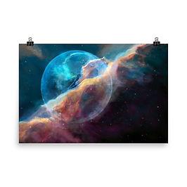 "Poster ""Hubble Bubble"" by JoeyJazz"