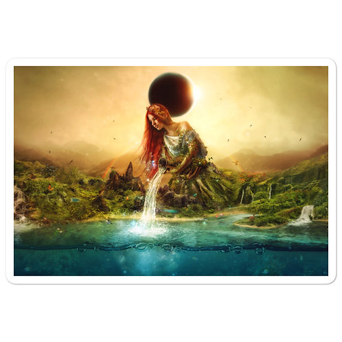 """Stickers """"Fountain of Eternity"""" by Aegis-Illustration"""