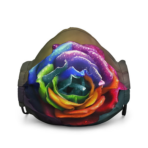 """Mask """"Rainbow Dream Rose"""" by Lilyas"""