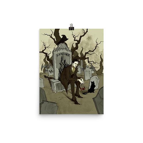 """Poster """"Edgar Allen Poe"""" by AbigailLarson"""
