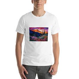 """T-Shirt """"Evening"""" by Gudzart"""