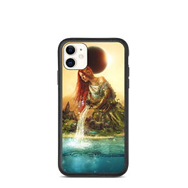 """iPhone case """"Fountain of Eternity"""" by Aegis-Illustration"""