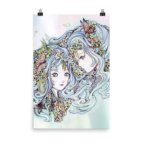 """Poster """"Gemini"""" by Hellobaby"""