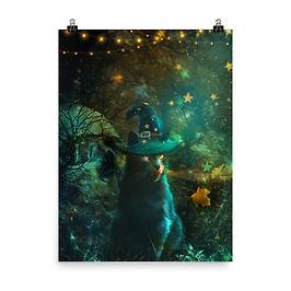 "Poster ""Sweet But Spooky"" by phatpuppyart-studios"