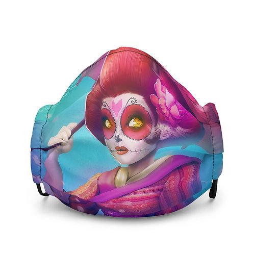 """Mask """"Geisha Catrina"""" by DasGnomo"""
