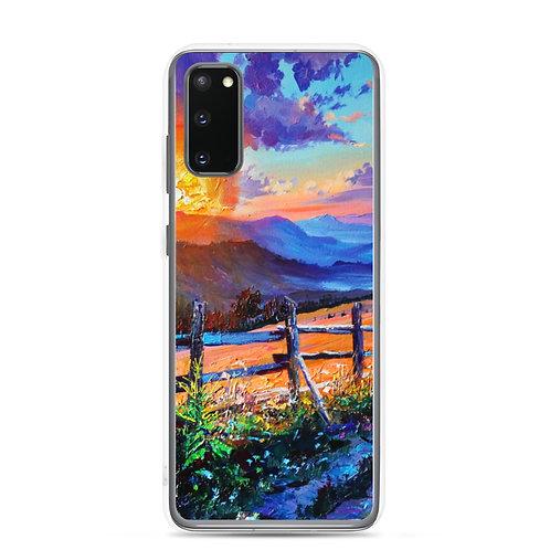 """Samsung Case """"Evening Sun"""" by Gudzart"""