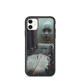 "iPhone case ""Judgement"" by thebakaarts"